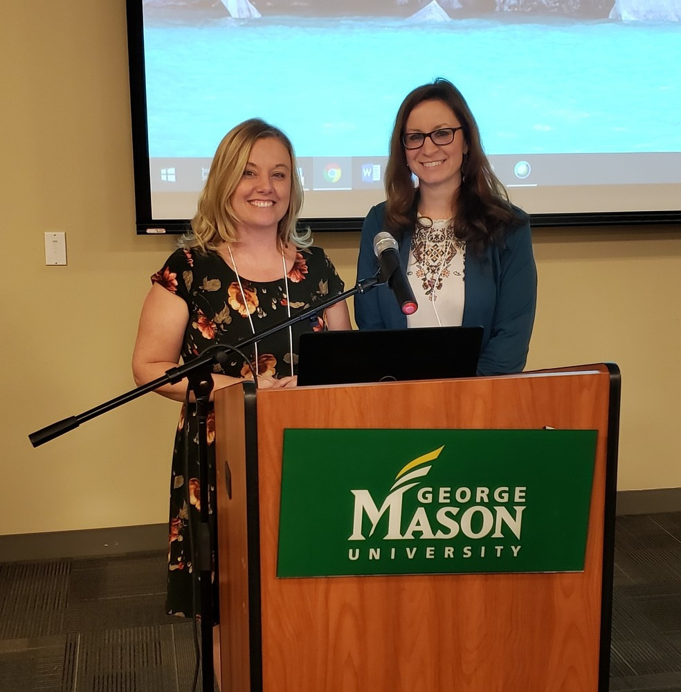 PCPS Teachers Present at George Mason University
