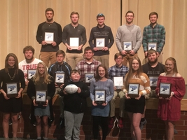 PCHS Fall sports awards ceremony