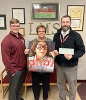 Luray Middle School Awarded Exxon Mobile Grant