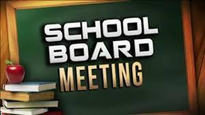 School board meeting
