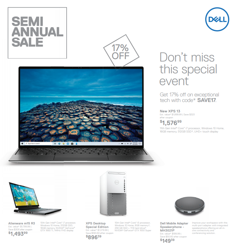 Dell computer offer