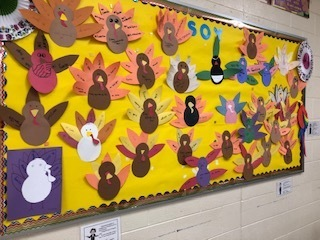 Presentation of Thankful Turkeys
