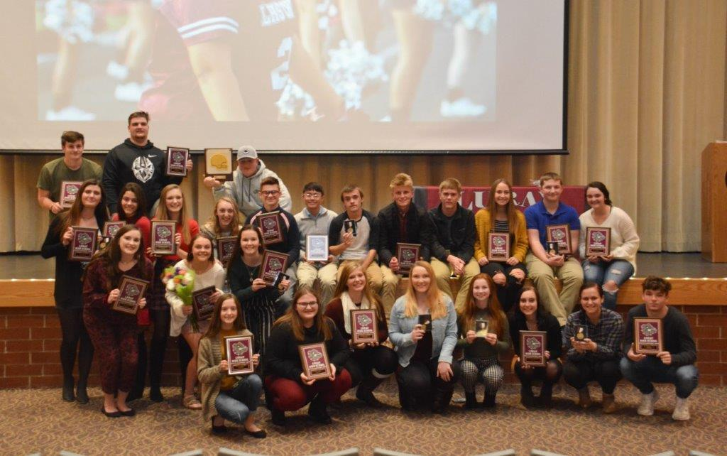 student athlete award winners