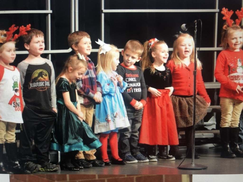 PreK kicked off the concert
