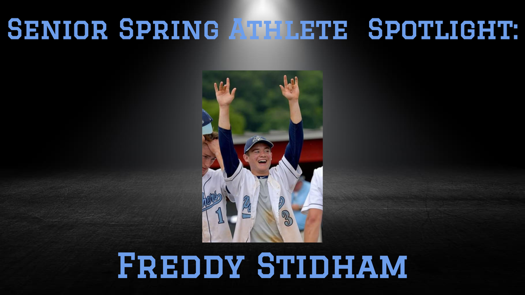 Senior Freddy Stidham.
