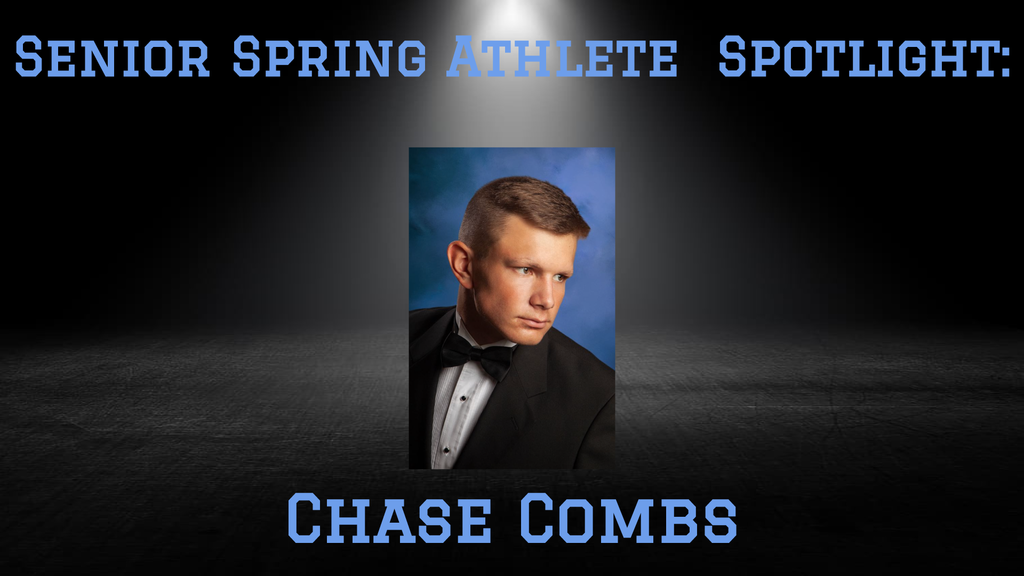 PCHS Senior, Chase Combs.