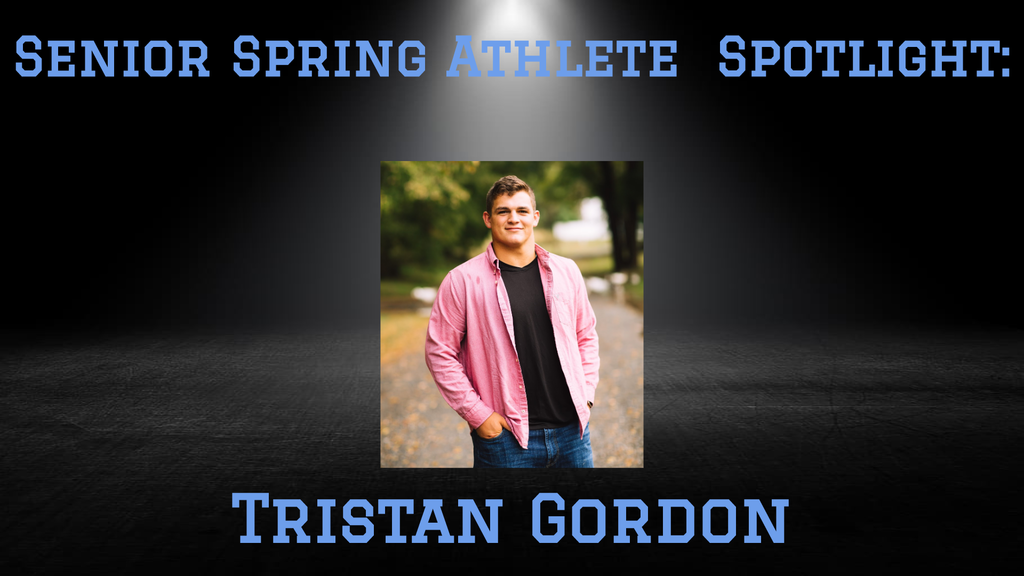 PCHS Senior, Tristan Gordon.
