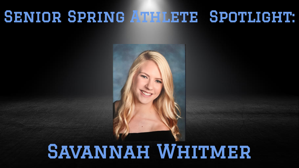 PCHS Senior, Savannah Whitmer.