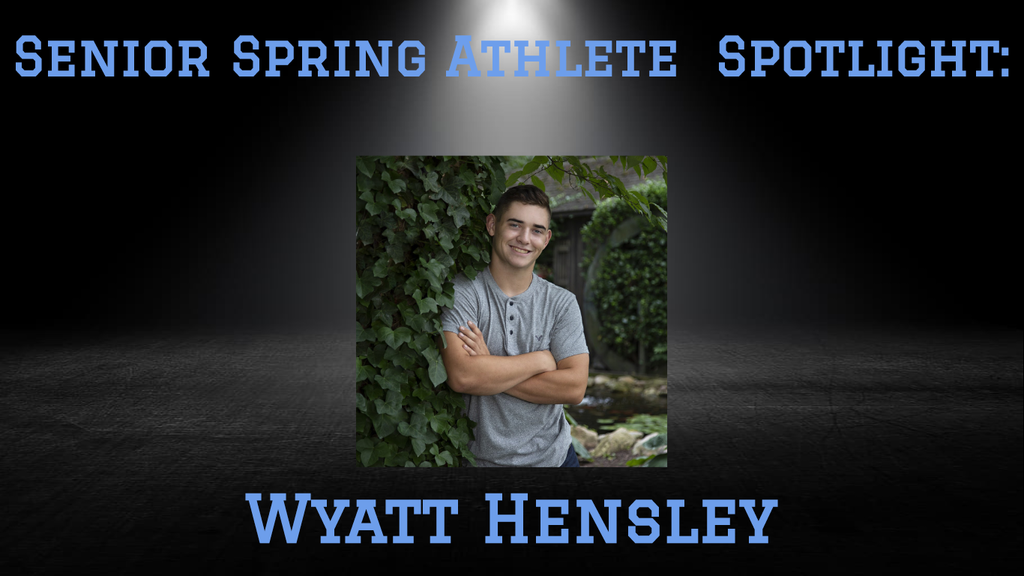 PCHS Senior, Wyatt Hensley.