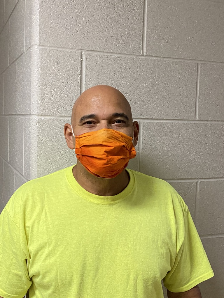 Frankie Coleman is our wonderful custodian.